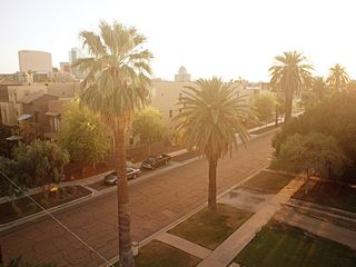 Phoenix townhome photo - Quiet street in downtown Phoenix with beautiful views.