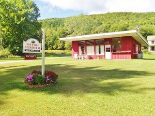 Lake St Catherine cottage rental - diner exterior from the route 140