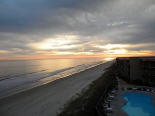 North Topsail Beach condo photo - South Pool View from Balcony