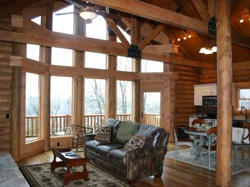 Leicester cabin rental - Wildberry Honeymoon Cabin Suite