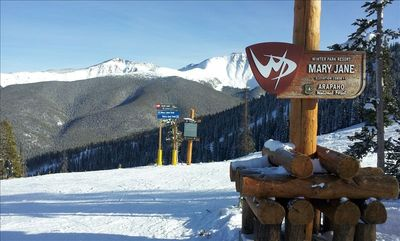 A Bluebird day on the mountain!