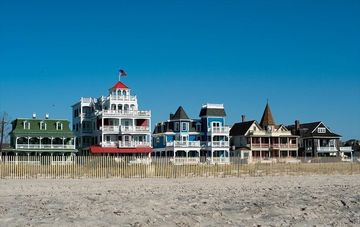 Historic Homes on Cape Mays Beach