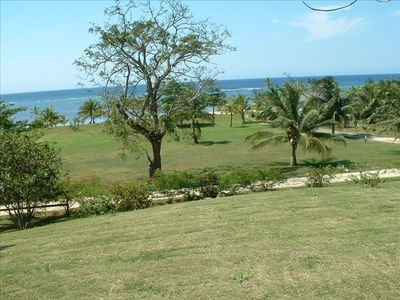 View of Part of the 1.5 acres of lush Roatan lands