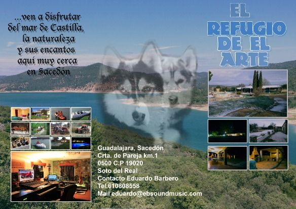 Self catering El Refugio del Arte for 16 people