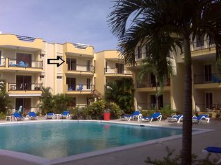 Sosua condo photo - The arrow points to #24 !