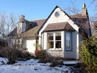 Braemar cottage rental - Morrone house in winter