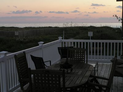 Sunset on the North Balcony, Barbecue Grill