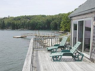 Westport Island cottage photo - Deck