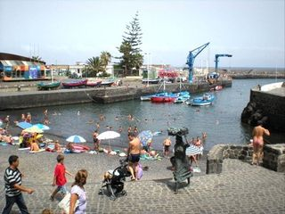 Puerto de la Cruz apartment photo - muelle pesquero ( just on the corner from apt)