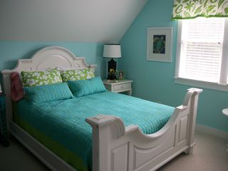 Bald Head Island cottage photo - Colorful Guest Bedroom