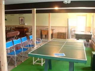 Raymond lodge photo - Playroom hasl the fun Toys; Ping-Pong, Air Hockey, Foose Ball, Pool Table & TV