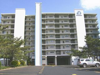Vacation Homes in Ocean City condo photo - View of building from coastal highway