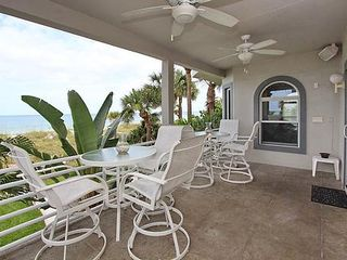Indian Rocks Beach house photo - Beach side deck
