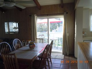 Del Mar condo photo - dining and balcony