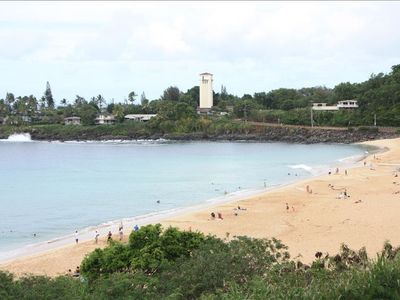 Waimea Bay is just 5 minutes away!