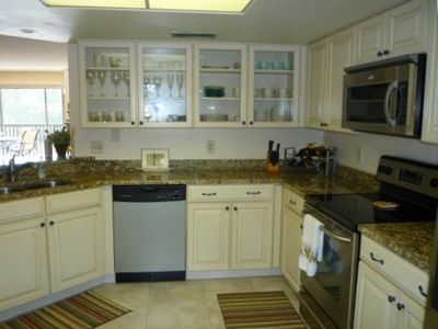All new kitchen - granite counters, new appliances, new cabinets