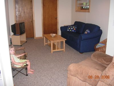 Family Room...Great place for the kids to hang out!