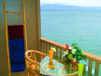 Pohailani 302, West Maui Oceanfront vacation rental