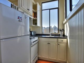 San Francisco apartment photo - Kitchen with views of the crookest street (lombard st) and the City
