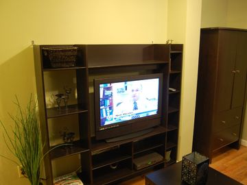 Living area LCD TV (Suite 1F)