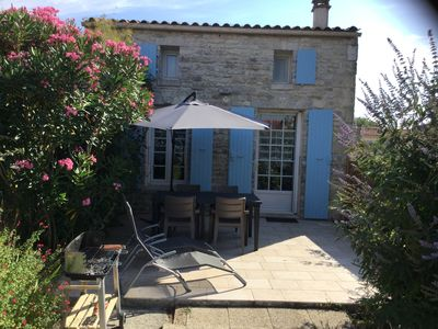 Charming stone country on the island of Oléron