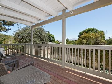 Camarillo house rental - View from the Master Balcony. There is a porch on the floor below as well.