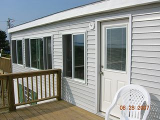 Hill's Beach cottage photo - Front deck