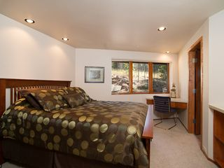 Flagstaff house photo - Guest room on main floor with shared bathroom to the right...