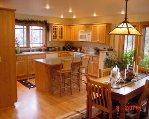 Yellowstone lodge photo - Kitchen and Dining