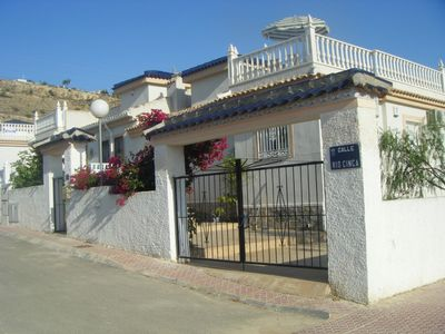 Rojales villa rental - out site villa