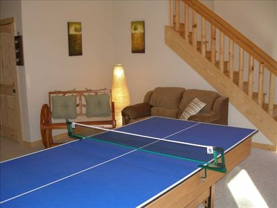 Enjoy Ping Pong in the Ultimate Game Room