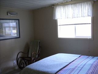 Yachats house photo - Get a great night's sleep with a queen bed and view and sounds of the ocean.