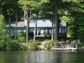 Casco house photo - View of Home from Thomas Pond