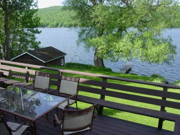Chateaugay Lake house rental