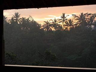 Breathtaking sunrise right straight from your bed - Ubud villa vacation rental photo
