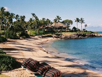 View of Kapalua Beach
