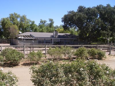 The Country Ranch House, Surrounded by Horse Corrals