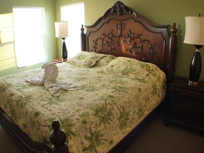 King master Suite upstairs