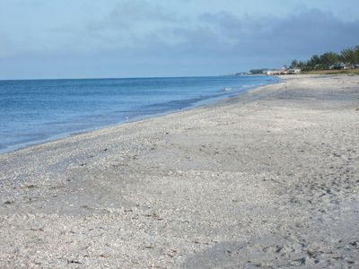 View of Little Gasparilla's secluded beach:)