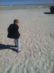 Wildwood condo photo - Late fall walk on the beach!