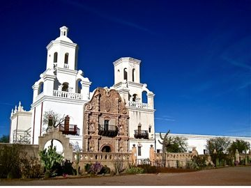 Step into Arizona history when you visit the San Xavier Mission in Tucson