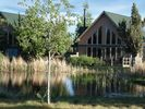 Chalet with peaceful views of the pond. - Eagle Crest chalet vacation rental photo