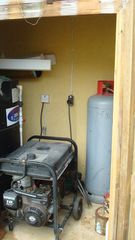 Montego Bay townhome photo - Back up generator and water tank
