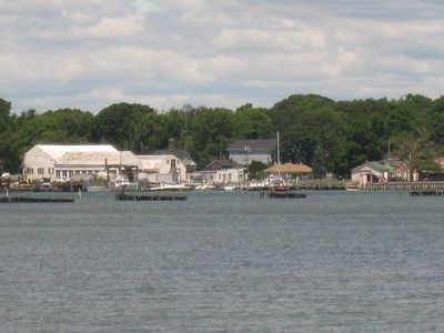 Nearby Peconic Bay