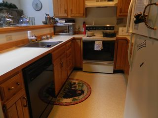 Carrabassett Valley condo photo - Upper unit: Kitchen