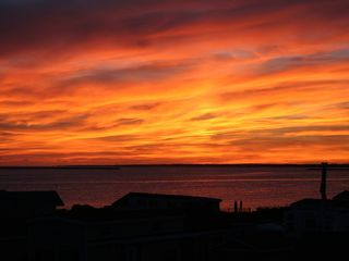 Point Judith cabin photo - Beautiful Sunset