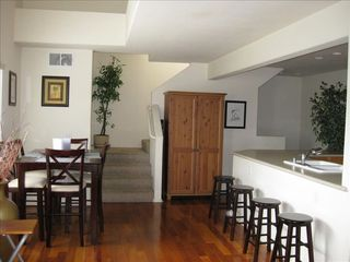 Counter seating in the kitchen area - Pacific Beach townhome vacation rental photo