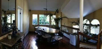 San Luis Obispo house rental - Dining Room and lower Theater Room