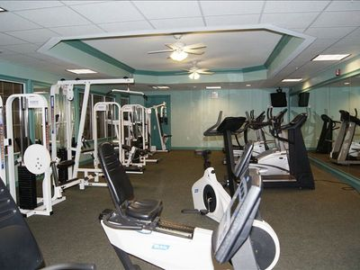 Complimentary On-site excercise Facility