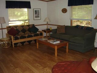 Stony Lake cottage photo - LIving room
